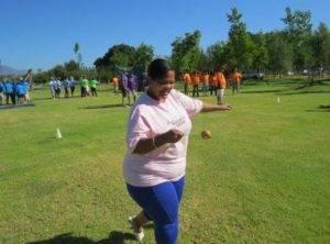 Boeresport team building egg race