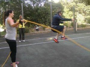 Boeresport team building skipping