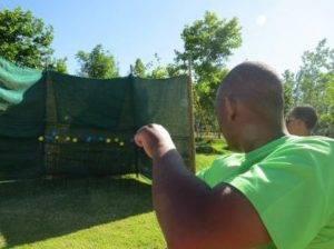 Boeresport team building target focus