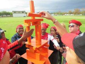 Crazy Sports Day tower building
