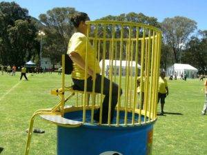 Sports Day water dunk
