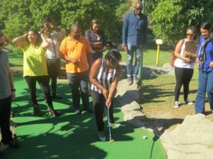 Urban Rally Team putt putt