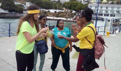 On Foot teamwork simonstown