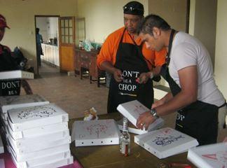 csi staff training pizza